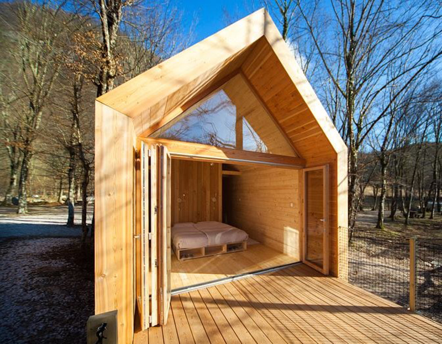 Suite. Cabañas de madera.
